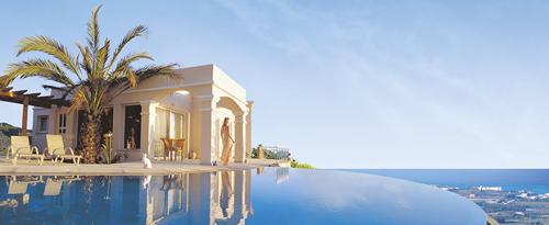 Ferienhaus am Strand in Zypern